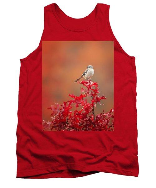 Mockingbird Autumn Tank Top by Bill Wakeley