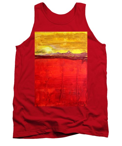 Mojave Dawn Original Painting Tank Top