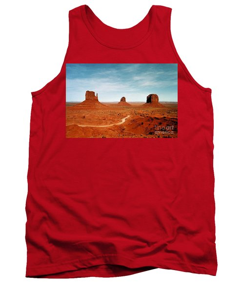 Tank Top featuring the photograph Monument Valley by The Art of Alice Terrill