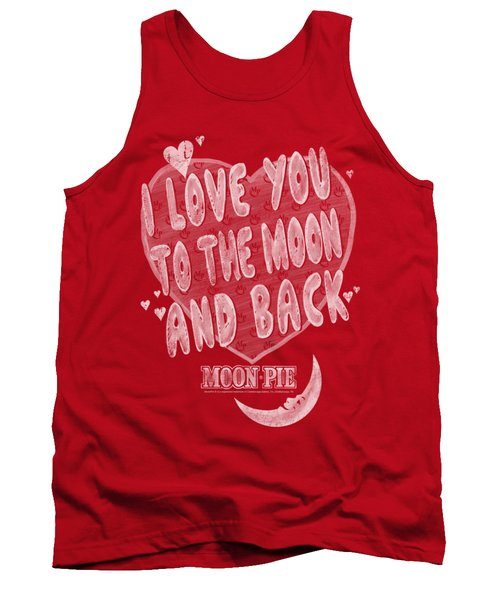Moon Pie - I Love You Tank Top