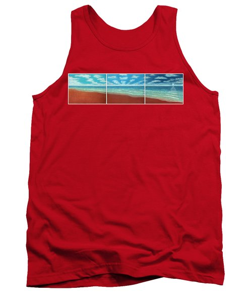 Moonset Triptych Tank Top