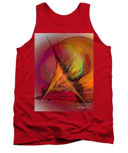 Moonstruck-abstract Art Tank Top