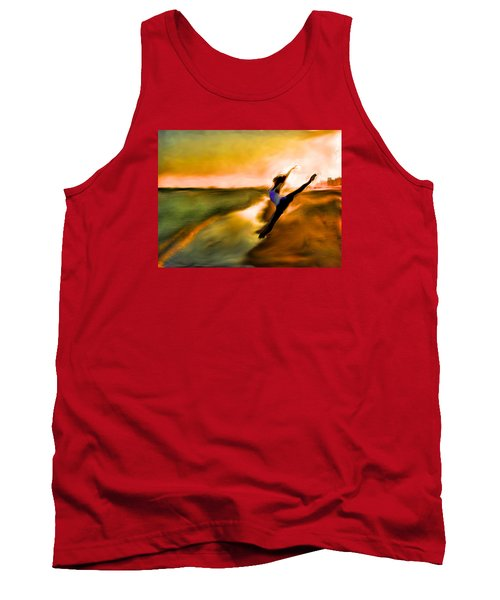 Tank Top featuring the mixed media Moose In Law by Terence Morrissey