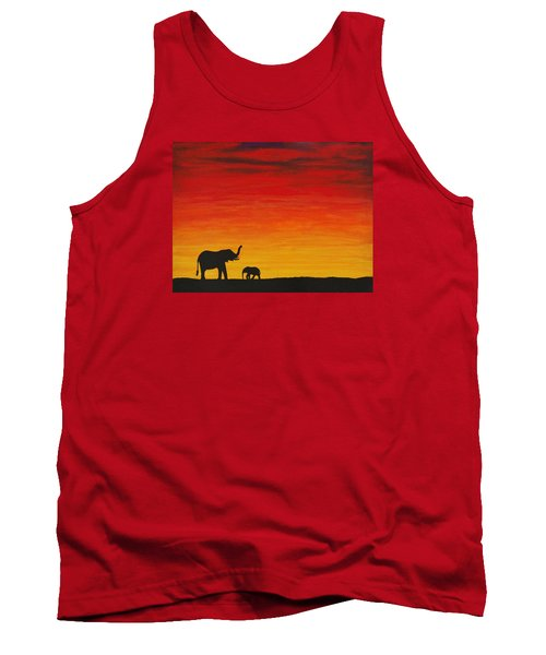 Tank Top featuring the painting Mother Africa 1 by Michael Cross