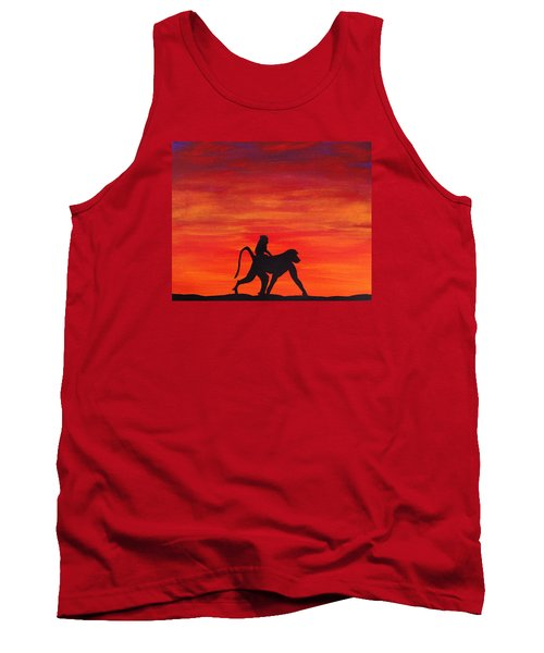Tank Top featuring the painting Mother Africa 4 by Michael Cross