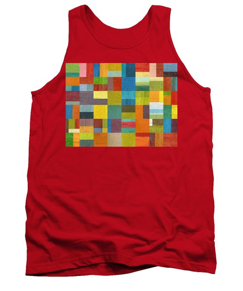 Multiple Exposures Lll Tank Top by Michelle Calkins