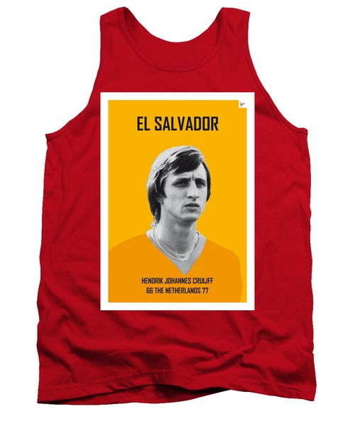 My Cruijff Soccer Legend Poster Tank Top