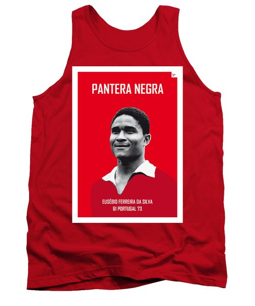 My Eusebio Soccer Legend Poster Tank Top