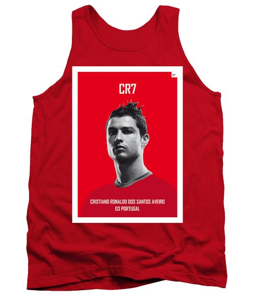 My Ronaldo Soccer Legend Poster Tank Top