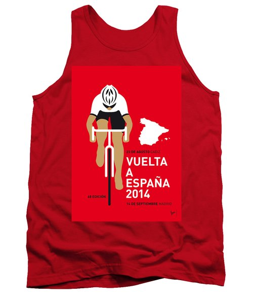 My Vuelta A Espana Minimal Poster 2014 Tank Top