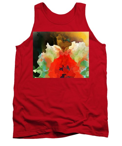 Tank Top featuring the digital art Mystic Bloom by David Lane