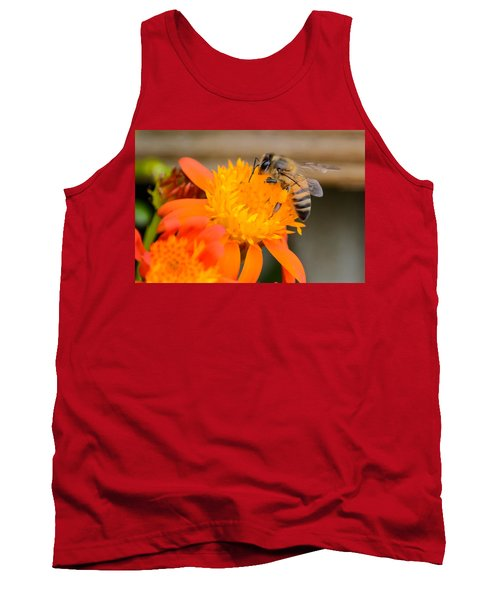 Tank Top featuring the photograph Carrying A Load by Debra Martz