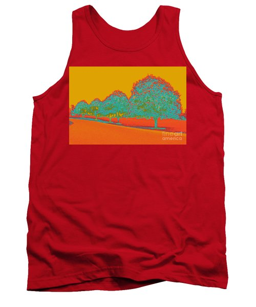 Neon Trees In The Fall Tank Top