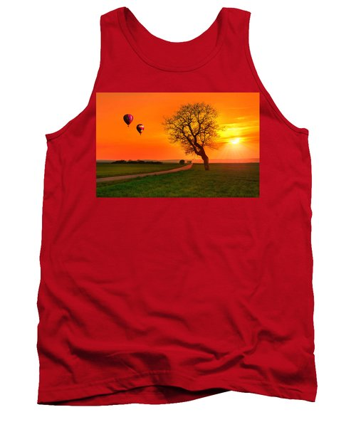 Never Ending Road Tank Top