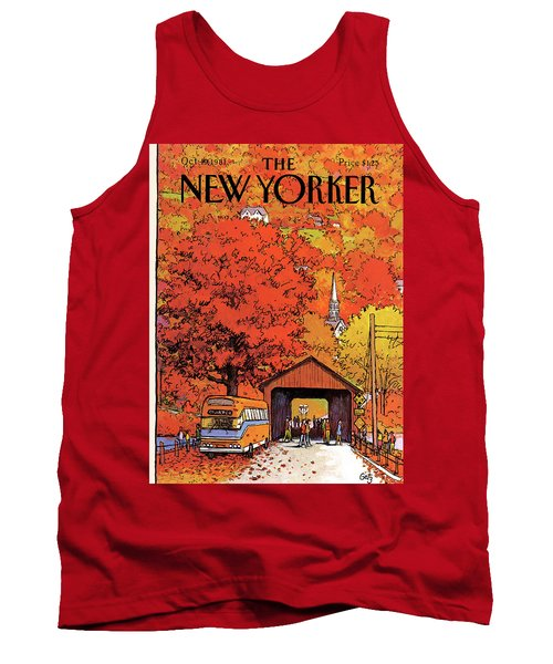 New Yorker October 19th, 1981 Tank Top