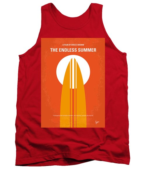 No274 My The Endless Summer Minimal Movie Poster Tank Top