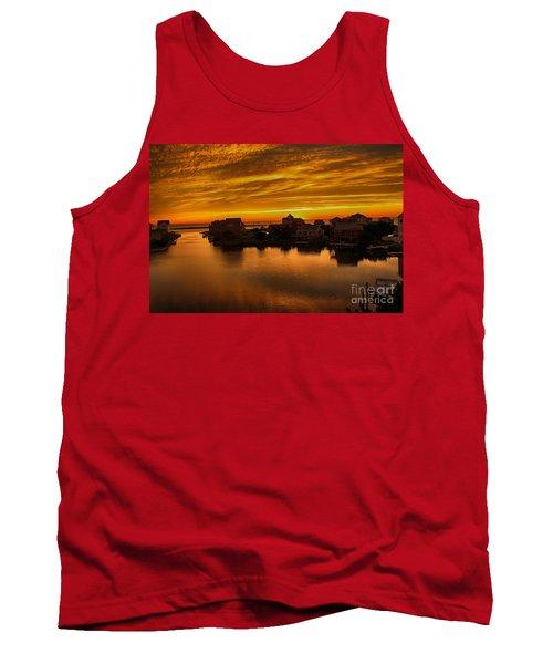 North Carolina Sunset Tank Top by Tony Cooper