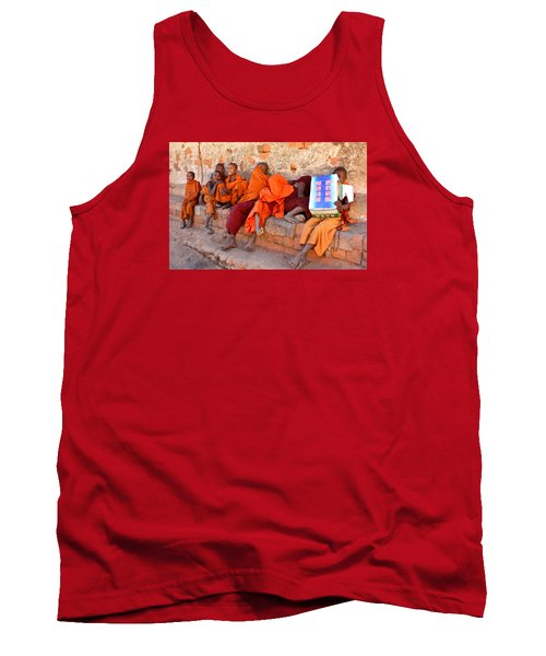 Novice Buddhist Monks Tank Top