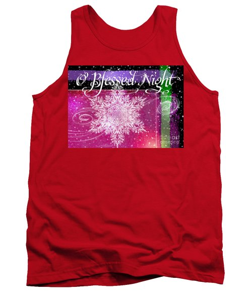 O Blessed Night Greeting Tank Top