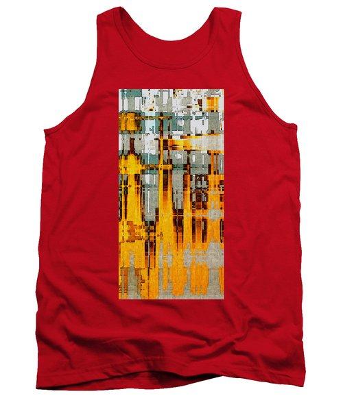Ochre Urbanity Tank Top by David Hansen