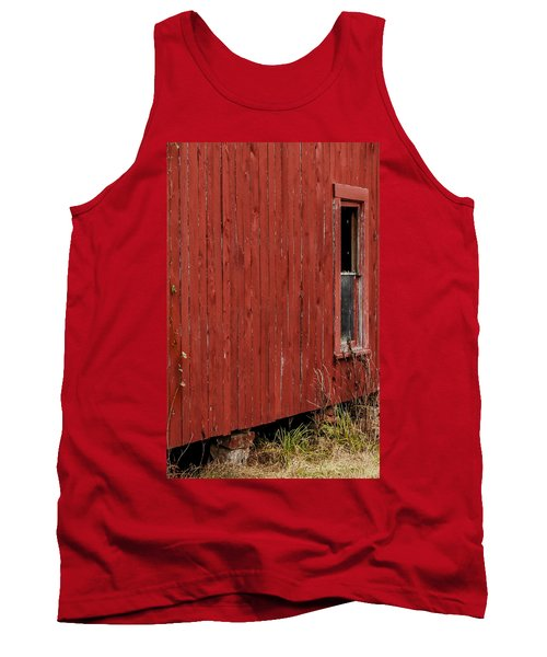 Tank Top featuring the photograph Old Barn Window by Debbie Karnes