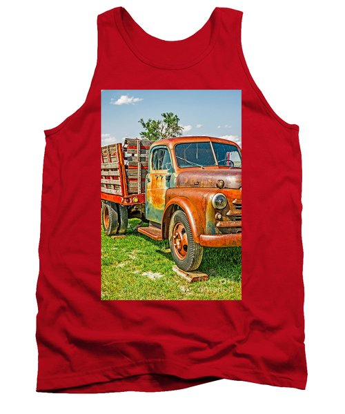 Old Dually Tank Top by Sue Smith