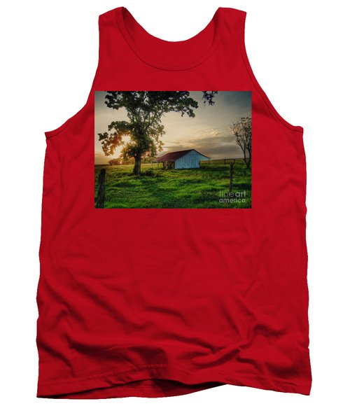 Old Shed Tank Top by Savannah Gibbs