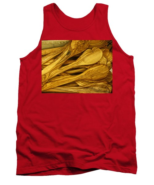 Olive Wood Tank Top