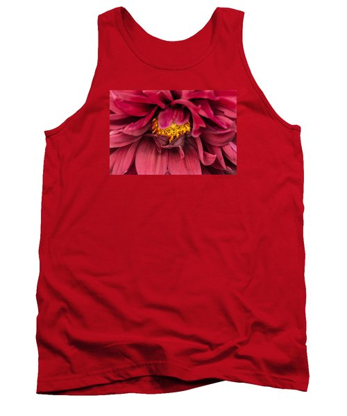 On Fire Tank Top by Edgar Laureano