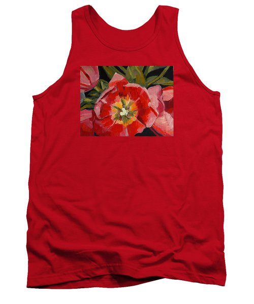 Tank Top featuring the painting Opening by Pattie Wall