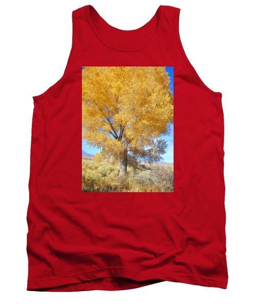 Tank Top featuring the photograph Orange Serenade by Marilyn Diaz
