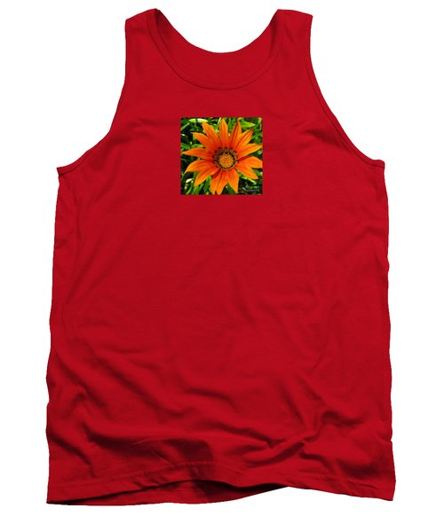 Orange Sunshine Tank Top by Janice Westerberg