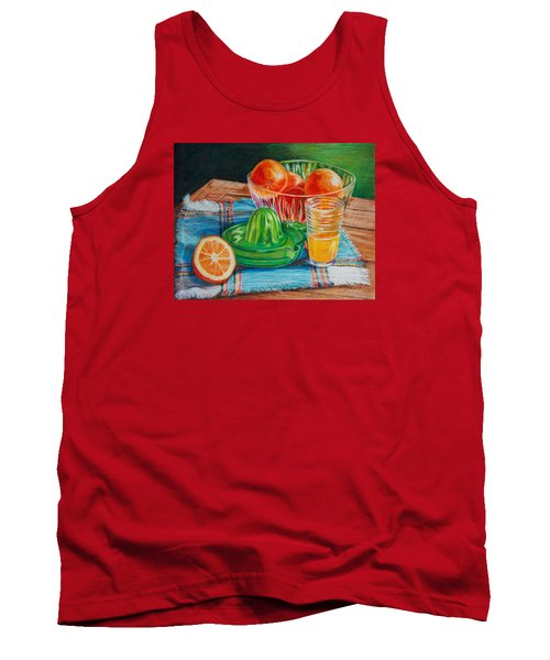 Oranges Tank Top by Joy Nichols