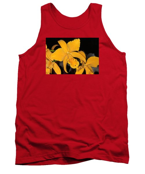 Orchid 5 Tank Top by Andy Shomock
