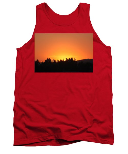 Oregon Sunset Tank Top by Melanie Lankford Photography