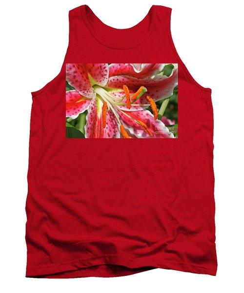Oriental Lily Tank Top