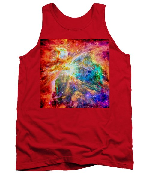 Orions Heart-where The Stars Are Born Tank Top