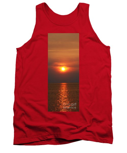 Tank Top featuring the photograph Outer Banks Sunset by Tony Cooper