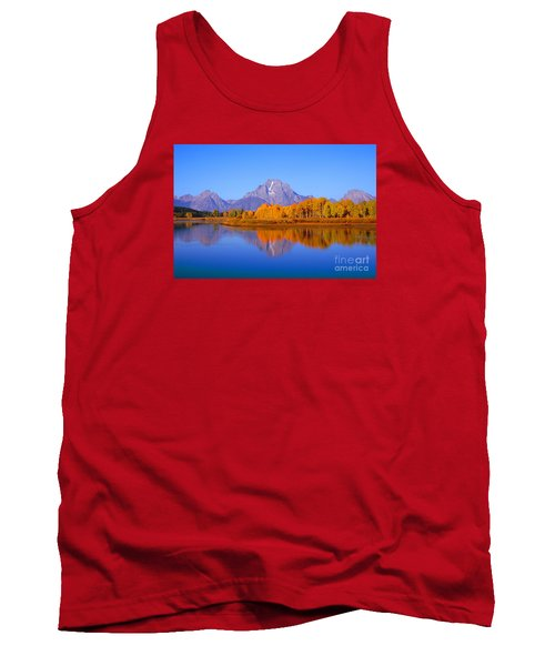 Oxbow Bend In Grand Teton Tank Top