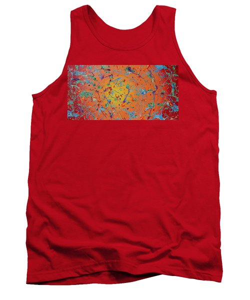 Paint Number Thirty Seven Tank Top