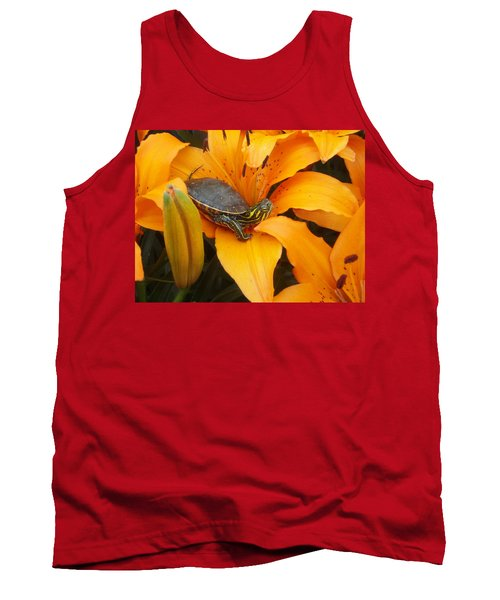 Painted Lilly Tank Top by James Peterson