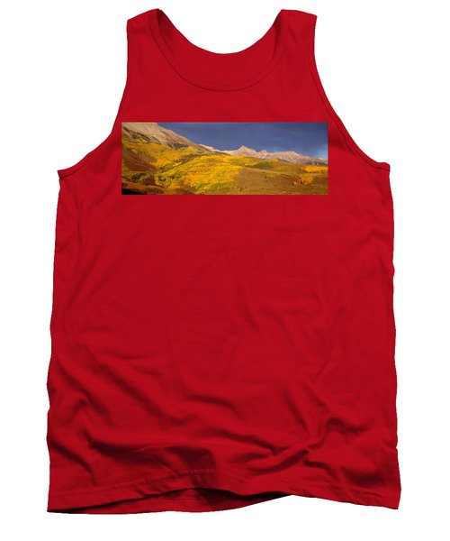 Panoramic View Of Mountains, Telluride Tank Top