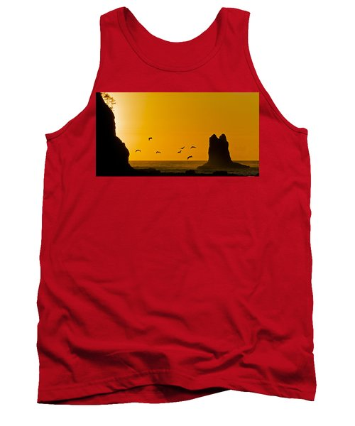 Pelicans On The Wing II Tank Top