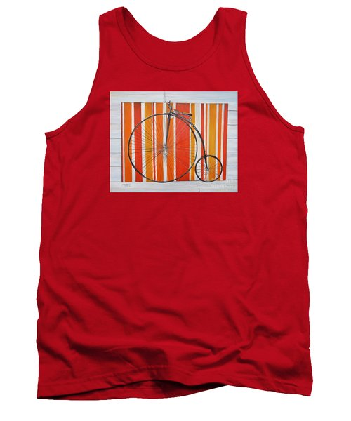 Penny-farthing Tank Top by Marilyn  McNish
