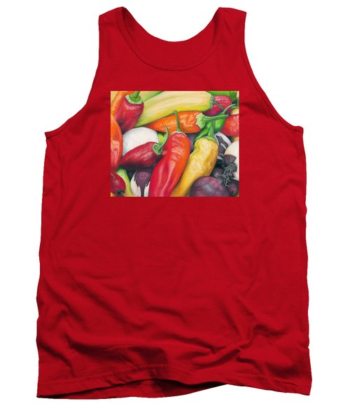 Peppers And Onions Tank Top