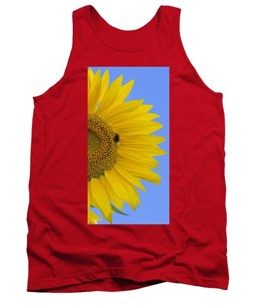 Perfect Half With Blue Sky Tank Top
