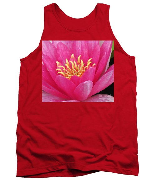 Perry's Fire Opal Water Lily Tank Top
