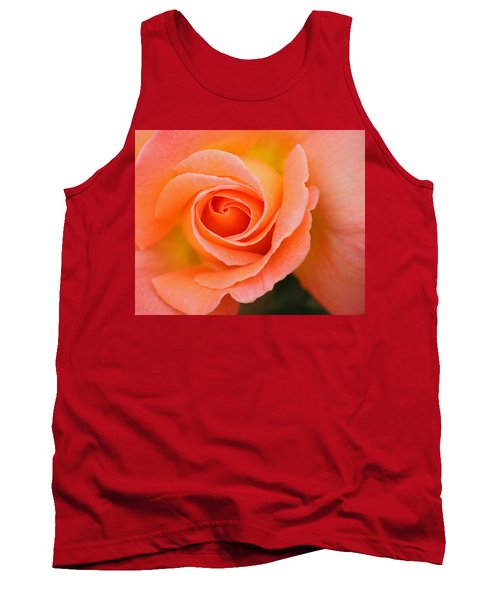 Tank Top featuring the photograph Petals Of Peach by Rowana Ray