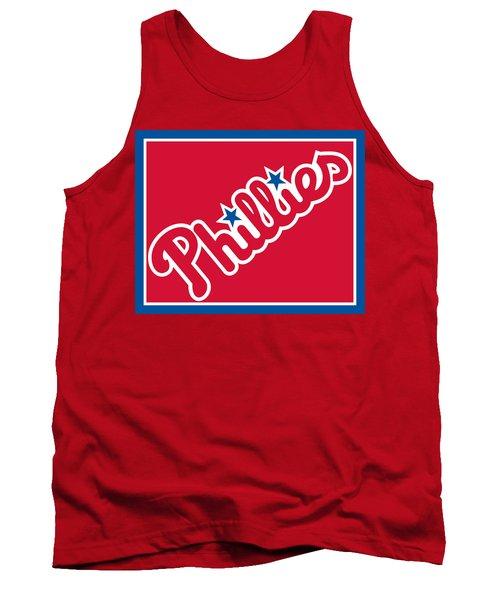 Philadelphia Phillies Baseball Tank Top