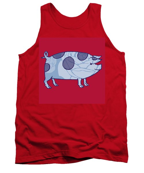 Piddle Valley Pig Tank Top